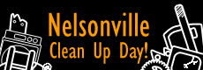 2018 Nelsonville Cleanup Day: Saturday, April 21st